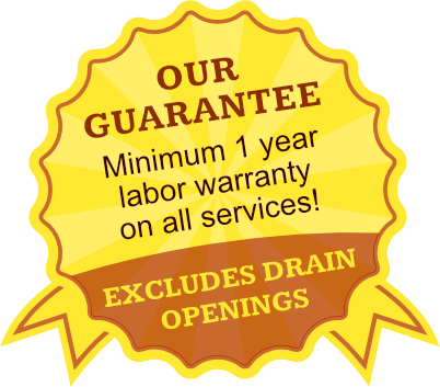 our guarantee badge 2